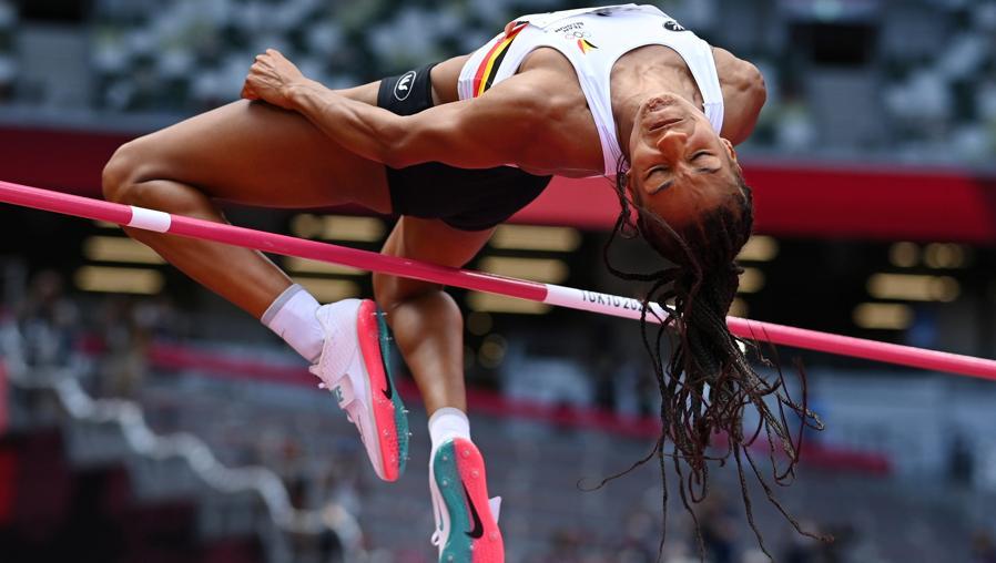 Atletica leggera - eptathlon salto in alto femminile (REUTERS/Dylan Martinez)