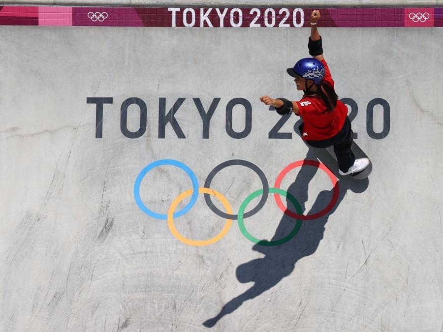Skateboard femminile (REUTERS/Lisi Niesner)