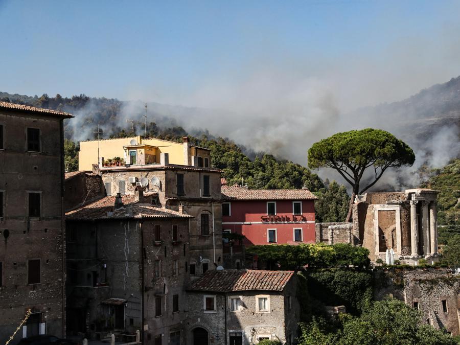 Tivoli, vicino a  Roma (ANSA/MASSIMO PERCOSSI)