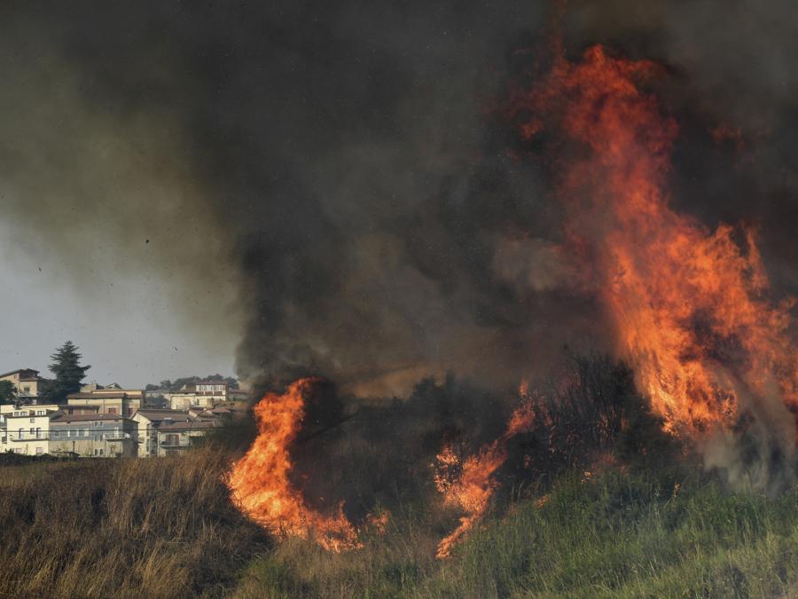 Blufi, nelle Madonie, vicino a Palermo. (AP Photo/Salvatore Cavalli)