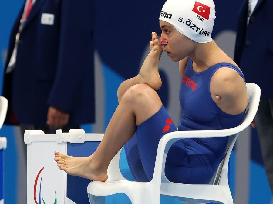 Nuoto - donne -50 metri dorso (REUTERS/Bernadett Szabo)
