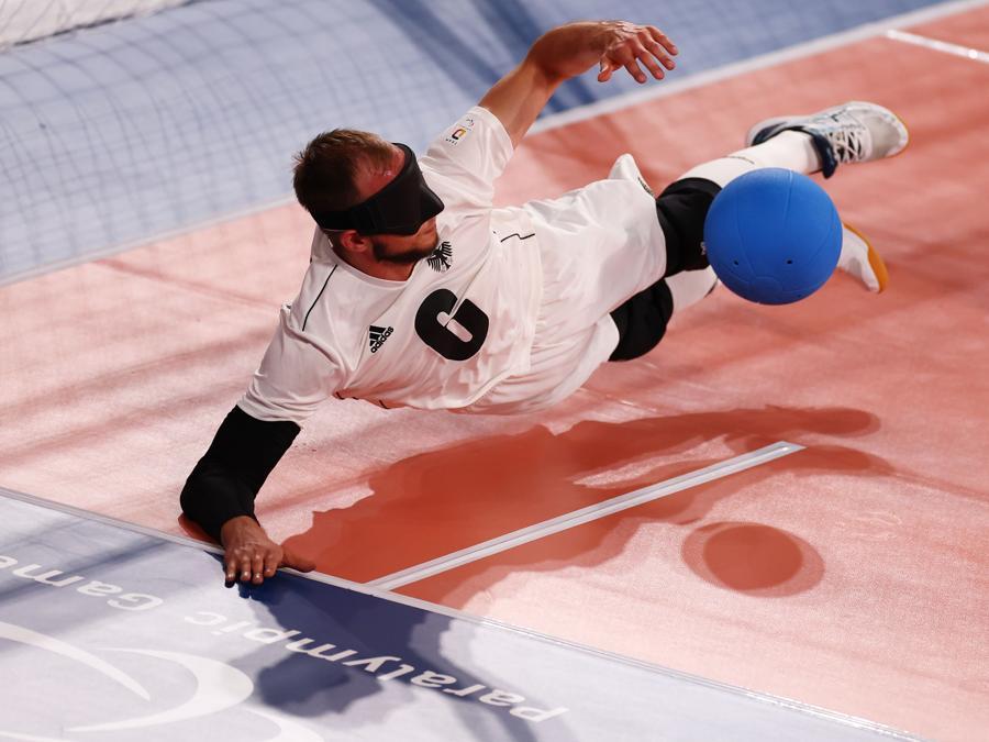 Goalball - Uomini China v Germany (REUTERS/Thomas Peter)