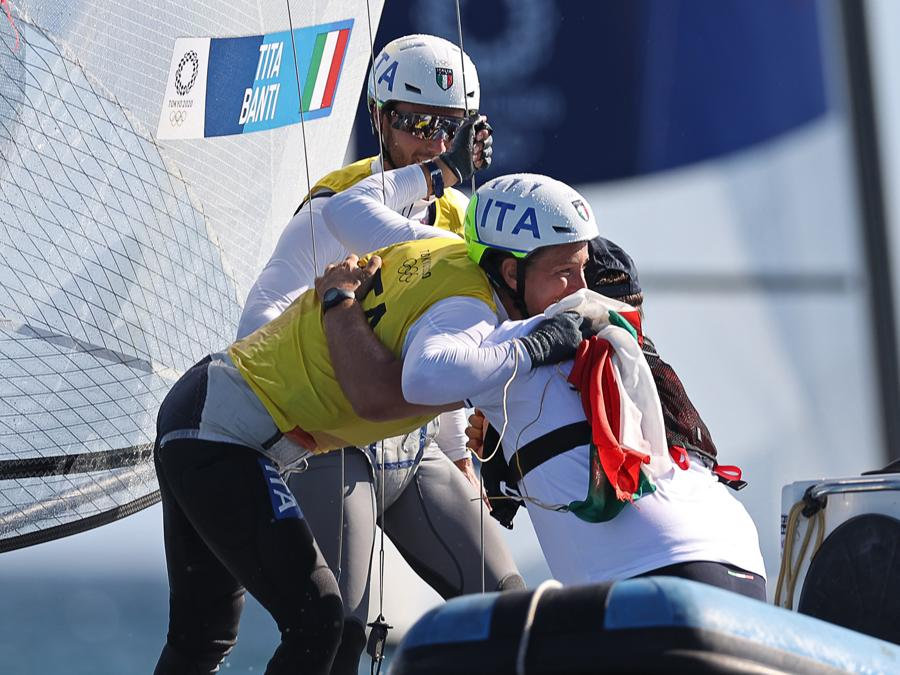 Ruggero Tita e Caterina Banti   (REUTERS/Ivan Alvarado)