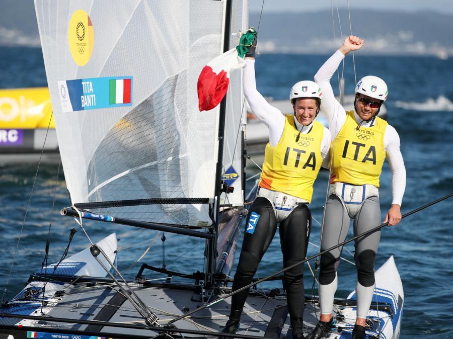 Caterina Banti e Ruggero Tita (EPA/OLIVIER HOSLET)
