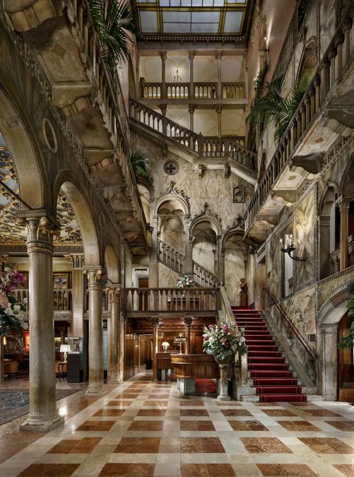 Hotel Danieli, Venezia. Lobby