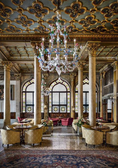 Hotel Danieli, Venezia. Bar Dandolo Lounge
