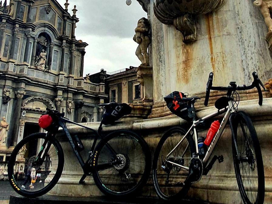 L'arrivo a Catania