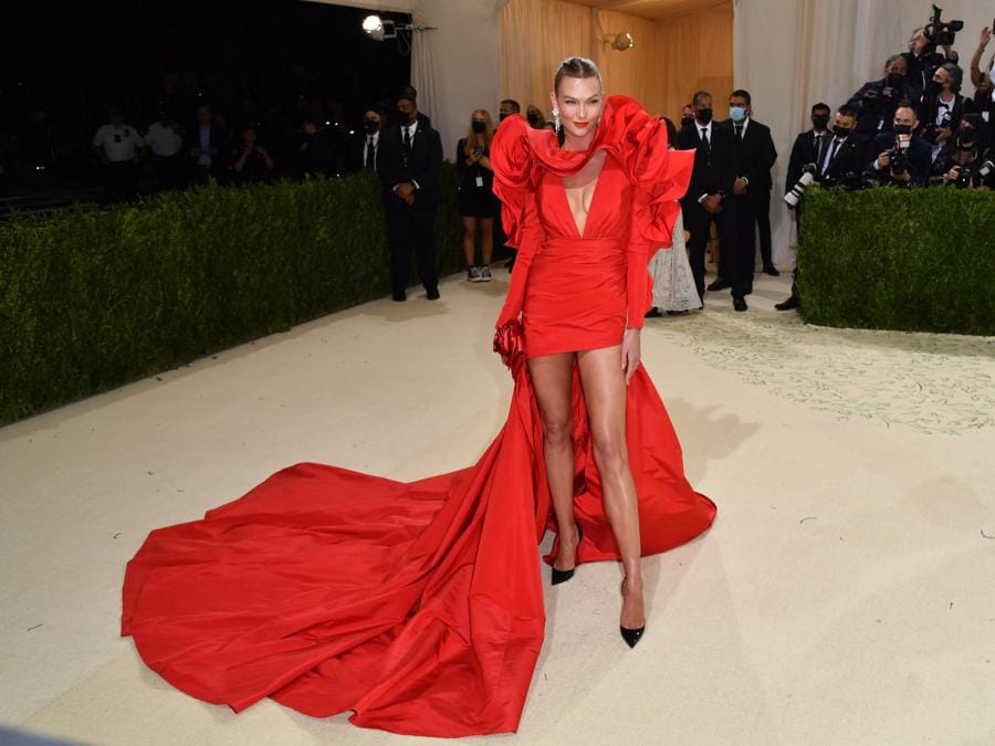 Karlie Kloss   (Photo by Angela Weiss / AFP)