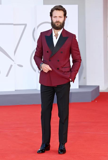 Alessandro Borghi indossa Gucci