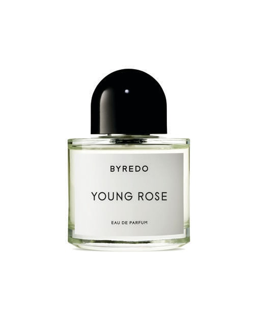 Byredo.Pepe del Sichuan e rosa damascena nell'eau de parfum Young Rose
