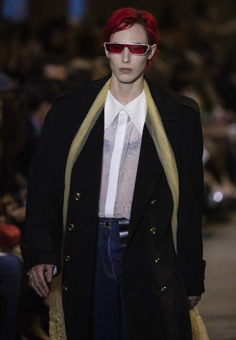 Louis Vuitton Primavera-Estate 2022 . (Photo by Vianney Le Caer/Invision/AP)