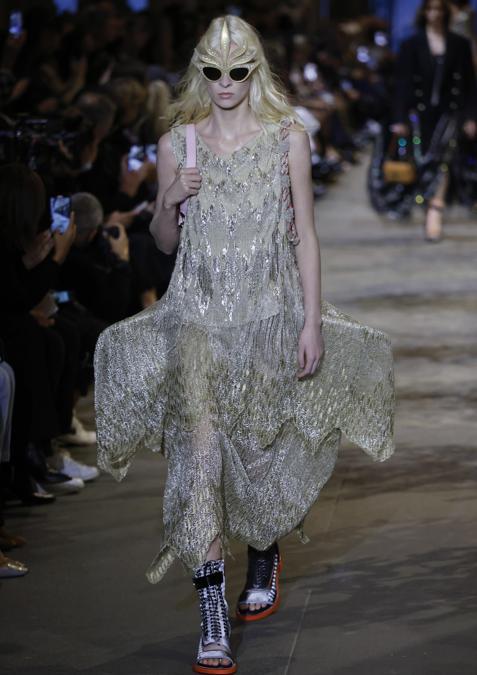 Louis Vuitton Primavera-Estate 2022. (EPA/YOAN VALAT)