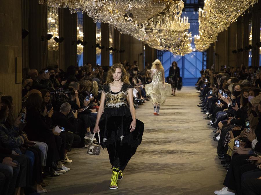 Louis Vuitton Primavera-Estate 2022. (Photo by Vianney Le Caer/Invision/AP)