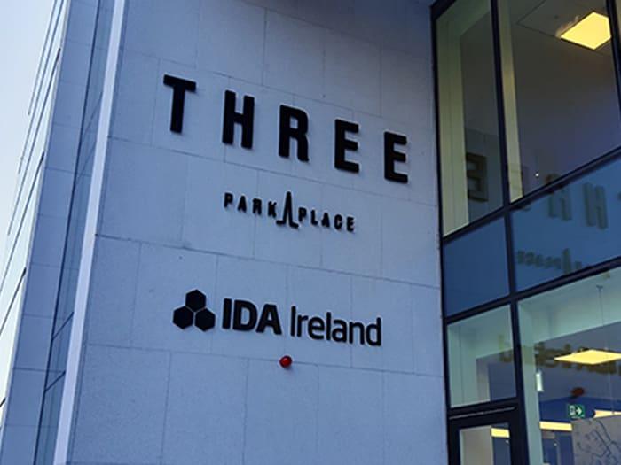 La sede di Ida Ireland, l'agenzia irlandese per l'attrazione degli investimenti esteri, nel distretto finanziario di Dublino