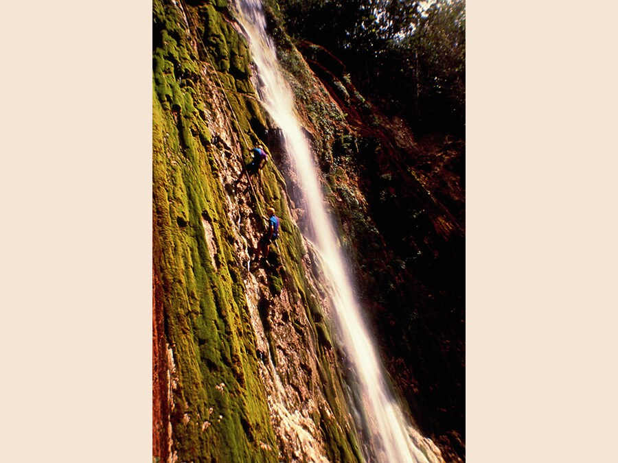 Arrampicata (© Ente Nazionale del Turismo della Repubblica Dominicana)