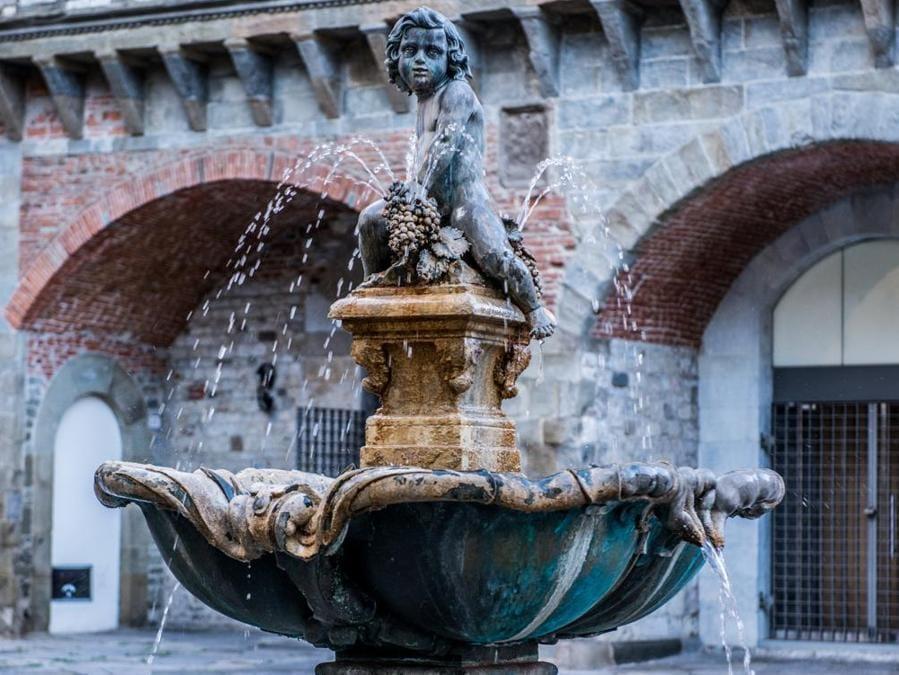 Fontana del Bacchino (foto di Ivan D'Ali)