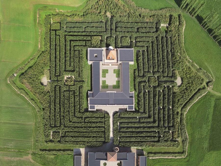 Labirinto della Masone (Archivio Franco Maria Ricci)