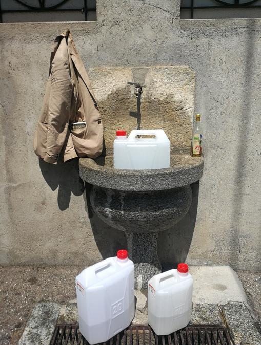 Rifornimento d'acqua