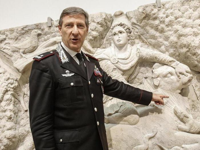Dieci opere d'arte recuperate dai Carabinieri
