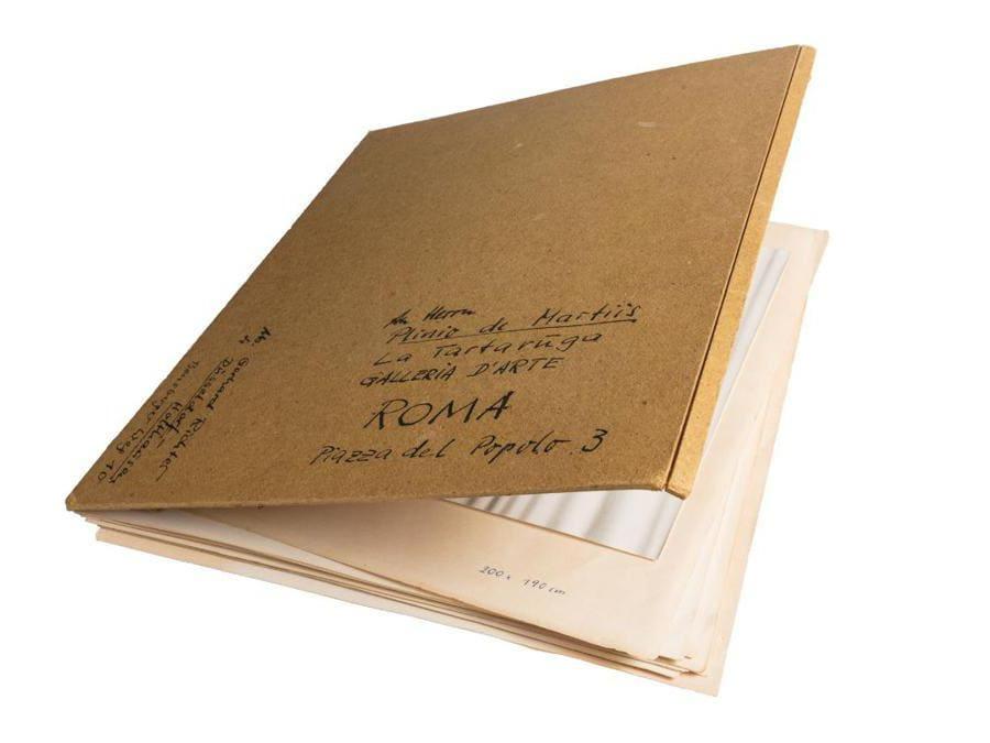 Finarte il volume di fotografie di Gerhard Richter inviato a Plinio de Martiis per la sua prima mostra personale italiana del 1965 stimata 30-40mila euro e aggiudicato per 61.250 euro