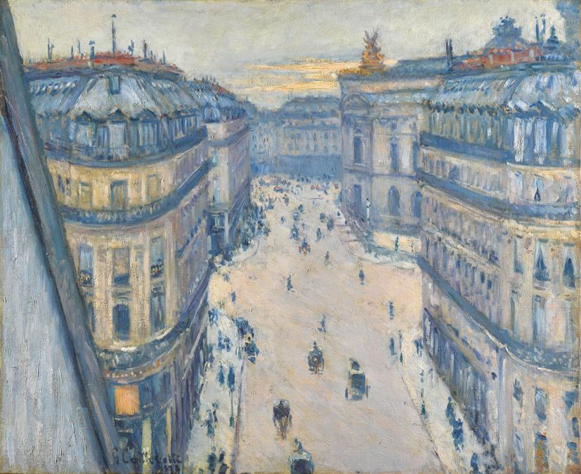 Lumières: The Levy Family Collection, Gustave Caillebotte, La Rue Halévy, Vue Du Sixième Étage, Signed G. Caillebotte and dated 1878 (lower left), Oil on canvas, 23 1/2 by 28 3/4 in. 59.5 by 73 cm, Painted in 1878. Estimate $6/8 million, Sold for $ 13,932,000