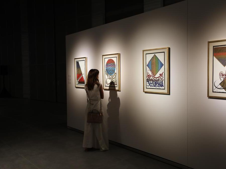 Calligraphy Workshop, Fine Arts Centre, Sheikh Abdullah Al-Salem Cultural Centre, Kuwait (Courtesy: ASCC)