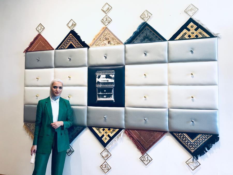 """Amani Althuwaini for """"In My Dream I Was in Kuwait"""", Scuola d'Arte dei Tiraoro e Battioro, Campo San Stae, Venezia, 15 giugno - 28 novembre 2019 (Courtesy Francesca Guerisoli)"""