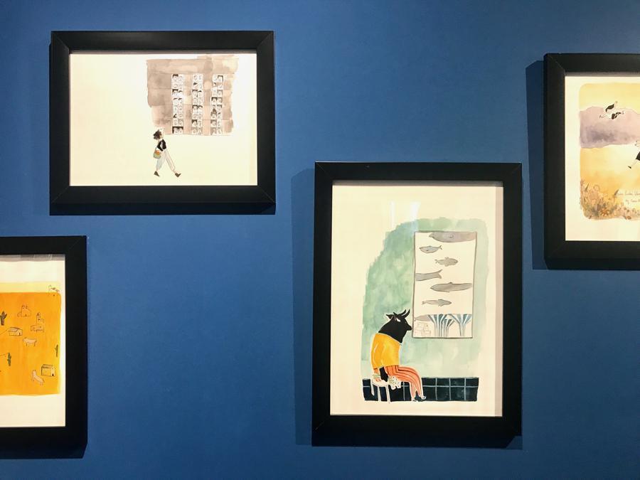 """Zahra Marwan for """"In My Dream I Was in Kuwait"""", Scuola d'Arte dei Tiraoro e Battioro, Campo San Stae, Venezia, 15 giugno - 28 novembre 2019"""