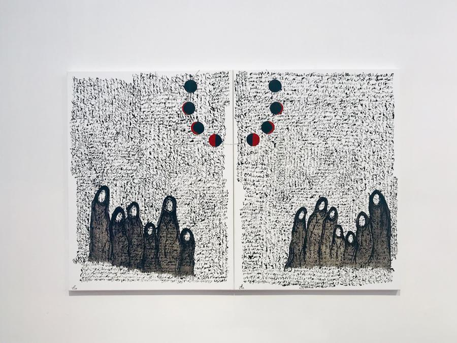 """Mahmoud Shaker for """"In My Dream I Was in Kuwait"""", Scuola d'Arte dei Tiraoro e Battioro, Campo San Stae, Venezia, 15 giugno - 28 novembre 2019"""