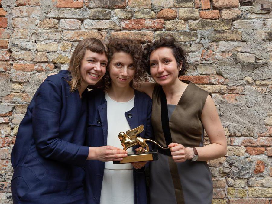 Artists Lina Lapelyte, Rugile Barzdziukaite, Vaiva Grinyte © Andrej Vasilenko.