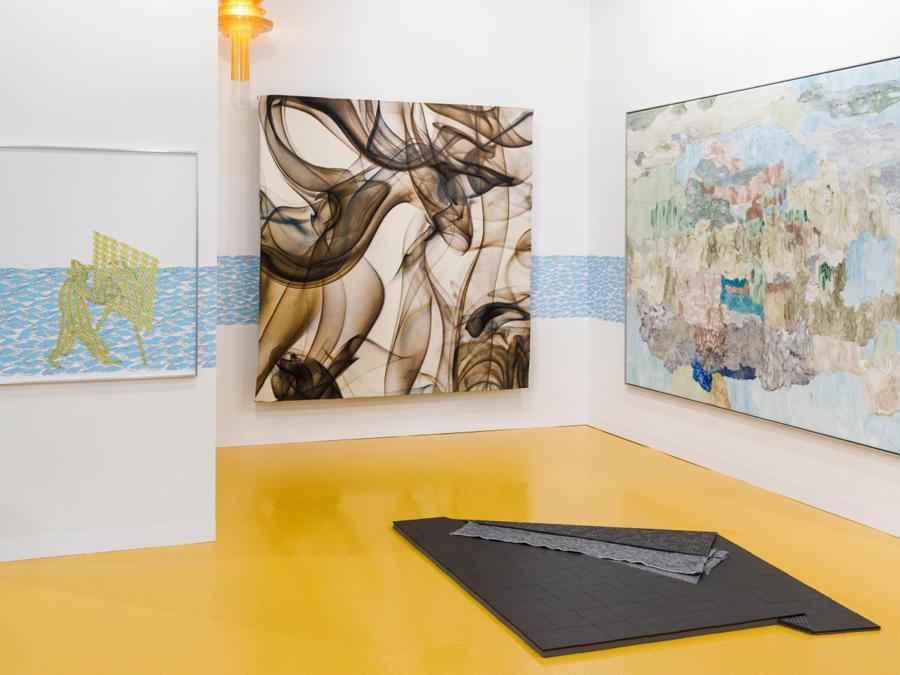 Lo stand di Neugerriemschneider ad Art Basel 2019 (© Art Basel)