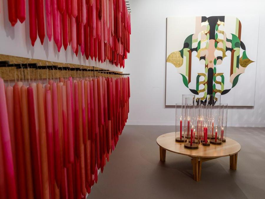 Lo stand di Kurimanzutto ad Art Basel 2019  (© Art Basel)