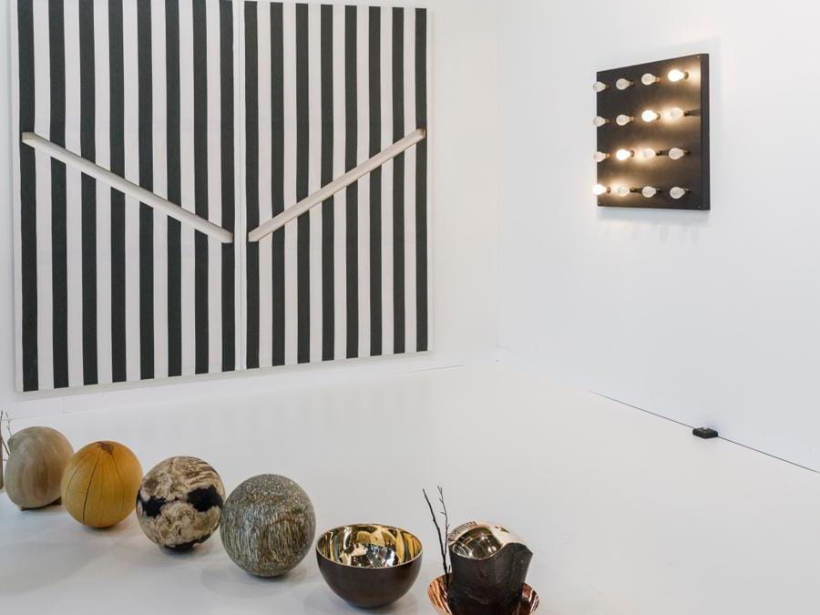 Lo stand di Kamel Mennour ad Art Basel 2019 (© Art Basel)