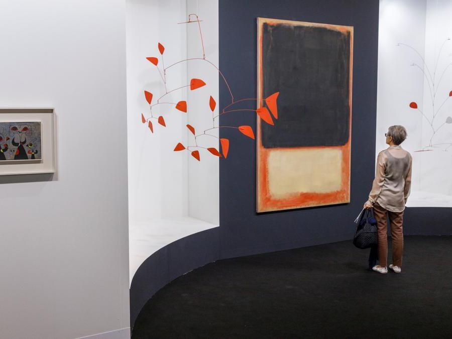 Lo stand di Helly Nahmad ad Art Basel 2019  (© Art Basel)