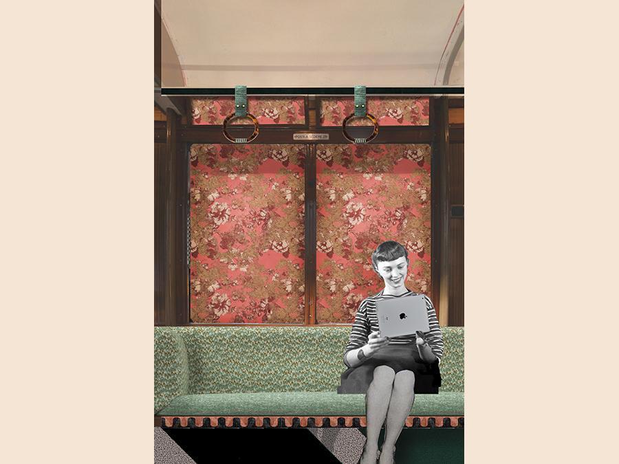 A spasso con il Tram Corallo - Un tram storico con sala di proiezione, creato dalla designer Cristina Celestino. Fermate: piazza Castello 2, via Cusani 4, Cairoli. Per iniziare a esplorare la zona di Brera. http://tramcorallo.com - www.2018.breradesignweek.it