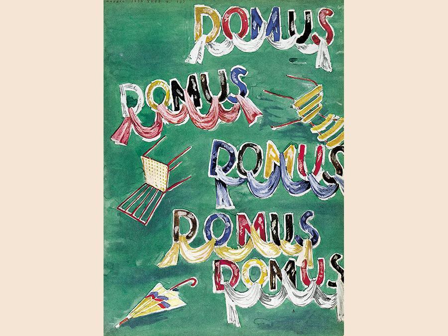 Domus racconta Gio Ponti - Domus compie 90 anni e alla Galleria Carla Sozzani di Corso Como 10 una mostra dal 16 aprile al 6 maggio racconta l'attività di Gio Ponti sulla rivista. (Nella foto, la sua cover di Domus 137, maggio 1939). www.galleriacarlasozzani.org