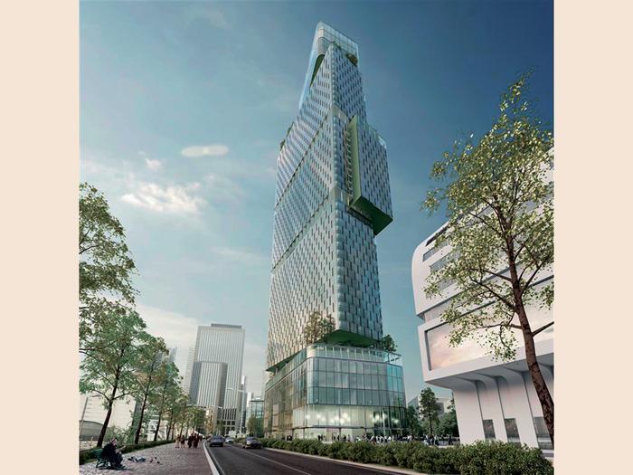 I nuovi grattacieli di Parigi