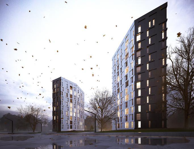 Le prossime torri di housing sociale a Cascina Merlata