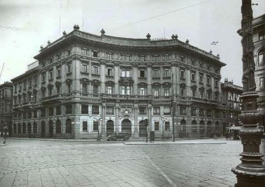 Piazza Cordusio, 1934