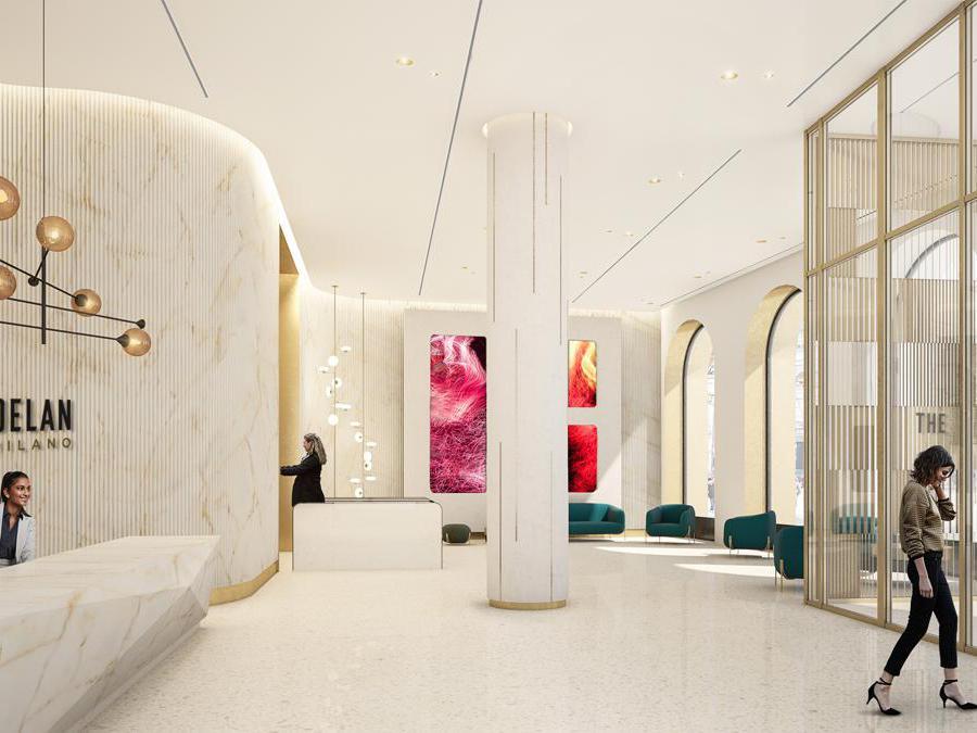 Lobby palazzo Broggi