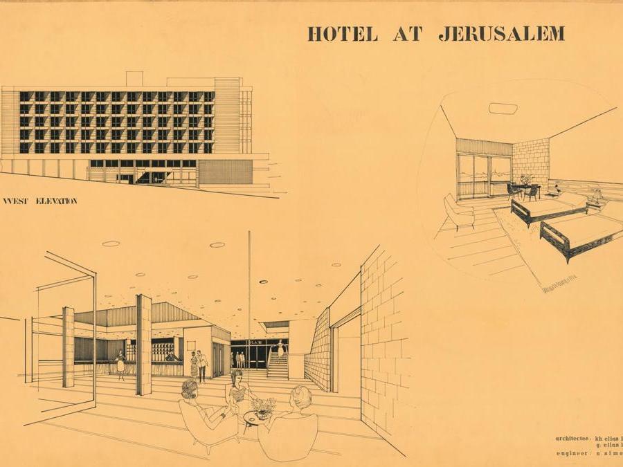 Khalil Khouri_Architecture_Hotel in Jerusalem_Various