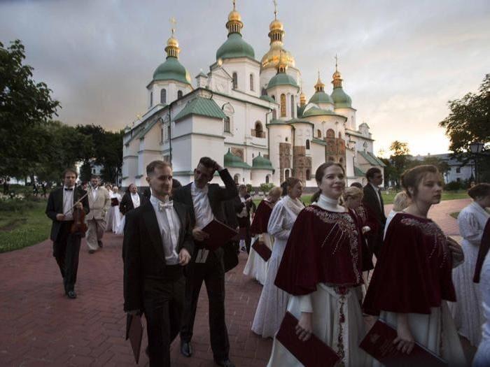 Le vie dell'amicizia a kiev