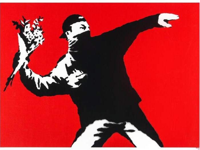Banksy, attenti al ratto