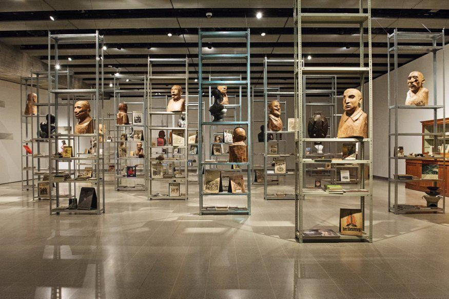 Kader Attia: The Museum of Emotion Hayward Gallery, London. Photo by Linda Nylind