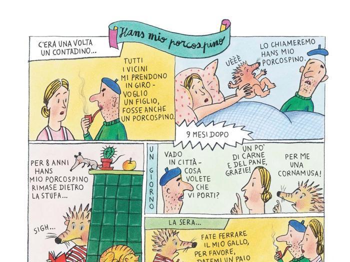 Fiabe a fumetti: le illustrazioni di Susanne Berner