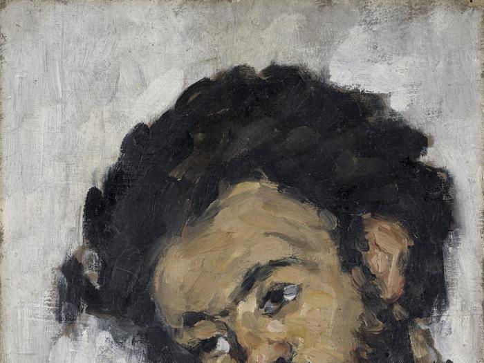 I puri ritratti di Cezanne alla National