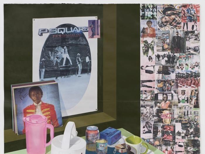 """Il """"re del pop"""" Michael Jackson in mostra alla  National Portrait Gallery"""
