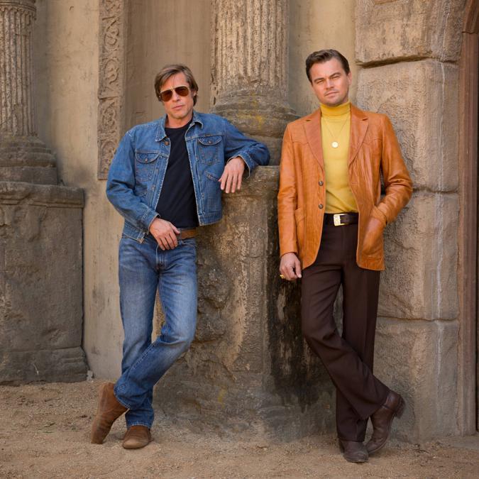 Brad Pitt e Leonardo Di Caprio nel nuovo film di Quentin Tarantino «C'era una volta a Hollywood»