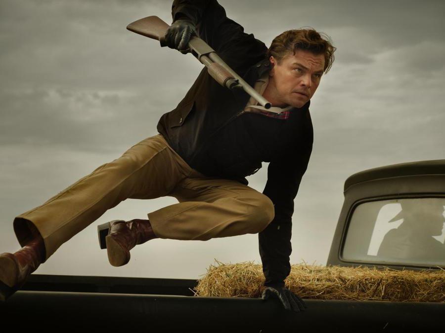 Leonardo Di Caprio in una scena del film