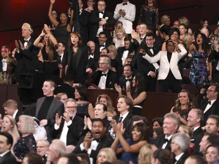 La notte degli Oscar, le immagini più belle